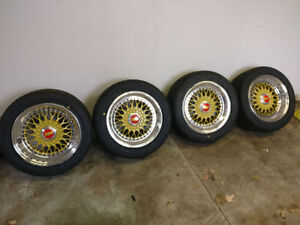 Porsche 944 BBS RS staggered setup just refinished PRICE DROP