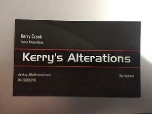 Kerry's Alterations Springwood Logan Area Preview