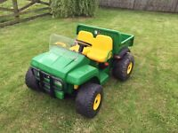 John Deere Gator ride on toy 12 v battery - used condition