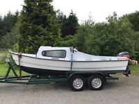 Nice little Boat with Trailer for sale or Xchange with a little car