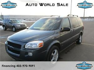 2007 Chevrolet Uplander LT1 | DVD | POWER SLIDING DOORS