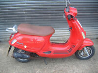 Scooter ped moped cpi bravo 50