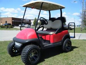 2013 Club Car Precedent Custom Lifted with OEM New Painted Body