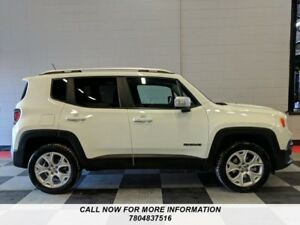 2017 Jeep Renegade AWD, Limited, Leather, Sunroof, Navigation, B