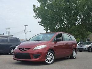 2010 Mazda Mazda5 GS/AUTO/6PASS/4CYL/AC/MAGS/AUX/GROUP ELECT