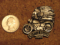 HARLEY DAVIDSON MYRTLE BEACH 2005 INDIAN CHIEF ON BIKE PIN