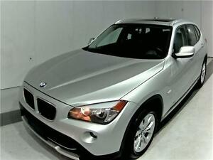 2012 BMW X1 PANO ROOF LEATHER 89KM