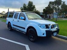 2007 Nissan Navara D40 ST-X White 5 Speed Automatic Utility North Brighton Holdfast Bay Preview