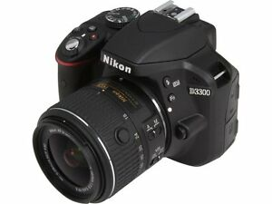 Nikon D3300 DSLR w/ kit lens 18-55mm - excellent condition