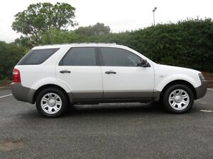2008 Ford Territory TX RWD White 4 Speed Automatic Wagon Victoria Park Victoria Park Area Preview