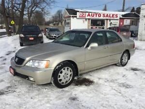 2003 Acura 3.5RL/Leather/Roof/Loaded/Certified