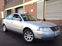 Volkswagen Passat 2004 1.9 TDI PD Highline 4 door AUTOMATIC, FULL SERVICE HISTORY, LEATHER, BARGAIN