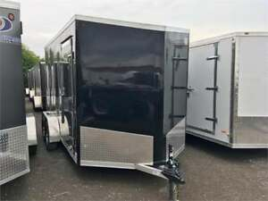 Aluminum Cargo Trailers, 7' Tall With Lots Of Extras