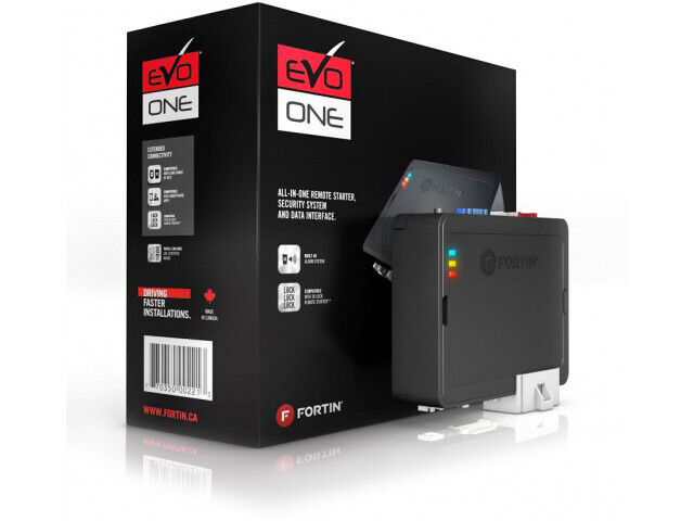 FORTIN EVO-ONE Fortin All-In-One Remote Starter Security System and Data Inte...