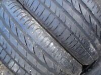 205/45/16 Bridgestone Part Worn Used Tyres In Pairs, 195/65/15, 215, 17, Good Condition Tread 6mm+