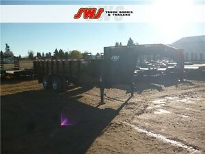 2016 18' Gooseneck HYD Dump Trailer Edmonton Edmonton Area image 13