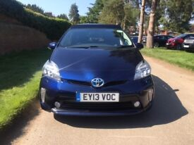 Toyota Prius T Spirit Full TOYOTA History Mint Condition 1 Owner Privacy Glass, Solar Roof, Rare Car