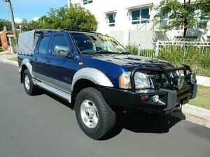2005 Nissan Navara D22 S2 ST-R Blue 5 Speed Manual Utility Redcliffe Redcliffe Area Preview