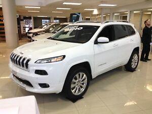 2016 Jeep Cherokee Overland, 4X4 NAV, CUIR, CAMERA, TOIT OUVRANT