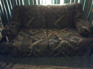 Love seat couch and chair set perfect for small apartment