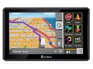 "Cobra 8000 PRO HD C Professional Navigation 7"" GPS"