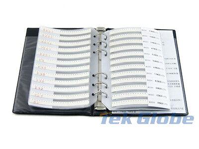 0201 Smd Resistor 5 106 Values 5300pcs Sample Book Assortment Kit
