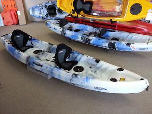 KAYAK SALE! Deluxe Tandem Sit-ontop Kayak w/Paddles