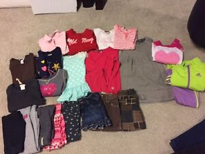 Girls size 4 fall/winter clothes