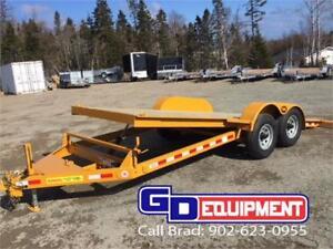 2018 LWL 20' Full tilt equipment trailer