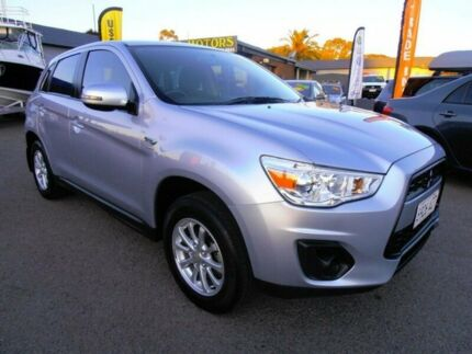 2012 Mitsubishi ASX XB MY13 (2WD) Silver Continuous Variable Wagon Pooraka Salisbury Area Preview
