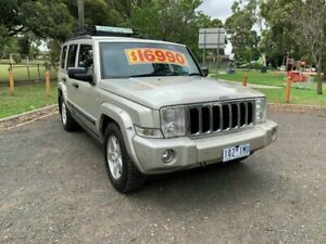 2007 Jeep Commander XH Limited Gold 5 Speed Sports Automatic Wagon Dandenong Greater Dandenong Preview