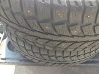 17 in ~ Studded Tires