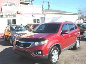 """SALE THIS WEEK"" 2013 KIA SORENTO AUTO LOADED 92K-100% FINANCING"