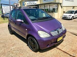 2001 Mercedes-Benz A140 W168 Avantgarde Purple Manual Auto-Clutch Hatchback Port Macquarie Port Macquarie City Preview
