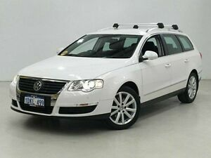 2010 Volkswagen Passat Type 3C MY10.5 118TSI DSG White 7 Speed Sports Automatic Dual Clutch Wagon Edgewater Joondalup Area Preview