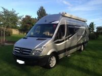 RS Equinox MX Race Motorhome Campervan 4 Berth Rear Garage 2012