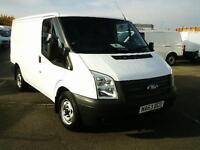 Ford Transit T280 SWB LOW ROOF VAN TDCI 100PS DIESEL MANUAL WHITE (2013)