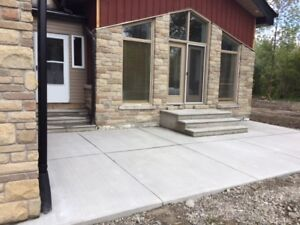 CONCRETE GARAGES FOUNDATION, UNDERPINNING,  WALK OUTS, DRIVEWAY,
