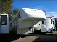 BEAUTIFUL TITANIUM FIFTH WHEEL-JUST ARRIVED! EASY FINANCING!