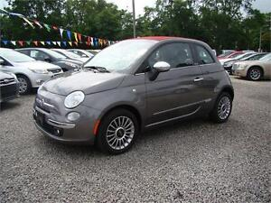 2013 FIAT 500 Lounge Convertible only 14,000 kms!