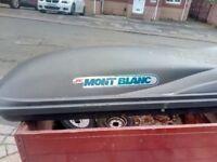 CAR TOP ROOF BOX