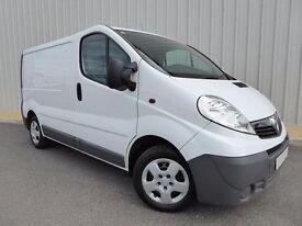 Vauxhall Vivaro 2.7T CDTI 115 SWB Van, 5 Door, 1 Owner, Superb Condition Throughout, No Vat on Price