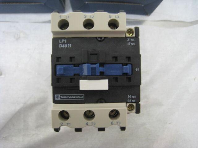 Schneider Telemecanique LP1D4011BD Contactor motor starter, 24V 3PH 40A