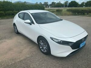 2019 Mazda 3 BP Series G20 Pure White Sports Automatic Garbutt Townsville City Preview