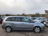 ZAFIRA SEVEN SEATER ONLY 69K 59 PLATE STUNNING JUST BEEN SERVICED!