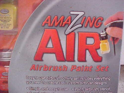 Testors Amazing Air Activity Airbrush Paint Kit - #282821