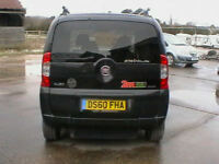 2011 FIAT QUBO 1.3TD DIESEL AUTOMATIC DYNAMIC WAV WHEELCHAIR ACCESS VEHICLE