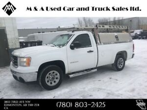 2010 GMC Sierra 1500 8 FT. BOX LENGTH WITH TOOL BOXES AND RACK W