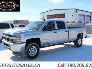 2015 Chevrolet Silverado 3500HD 4X4 Crew Cab 8' Long Box 6.6L Du