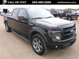 2014 Ford F-150 FX4 CREW 3.5L ECOBOOST 157 LEATHER MOONROOF NAV